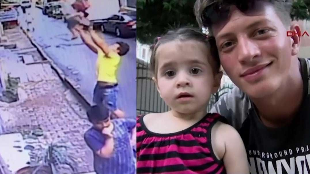 2-Year-Old Girl Caught by Teen After Falling Out Window