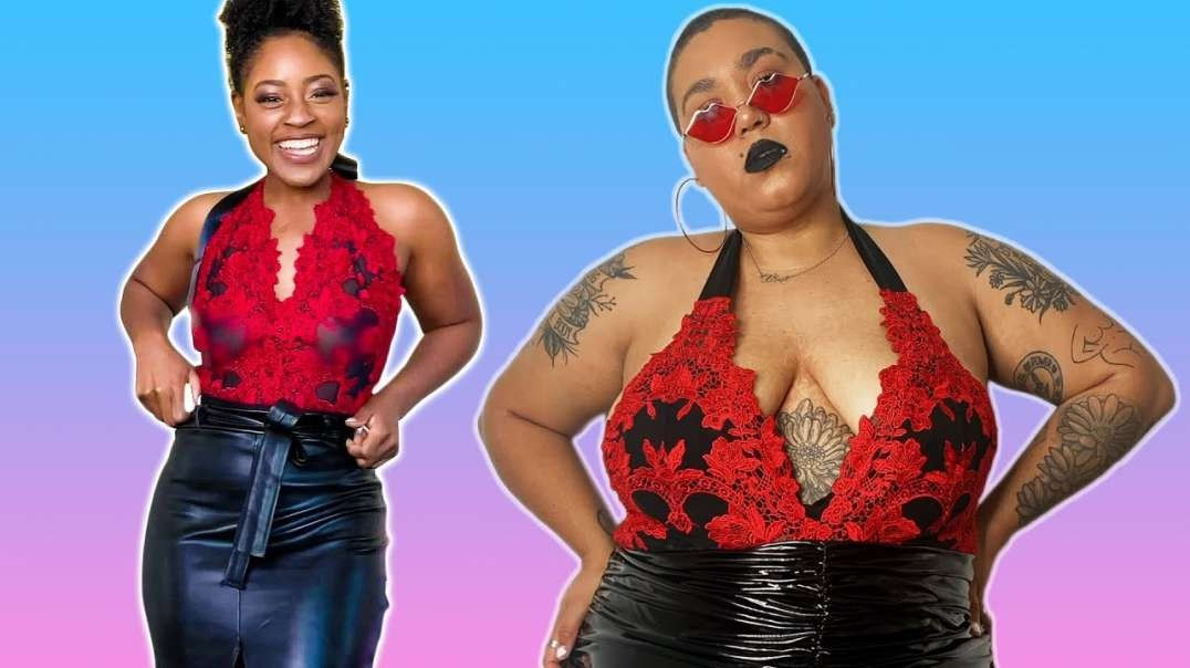 Women Try One-Size-Fits-All Lingerie