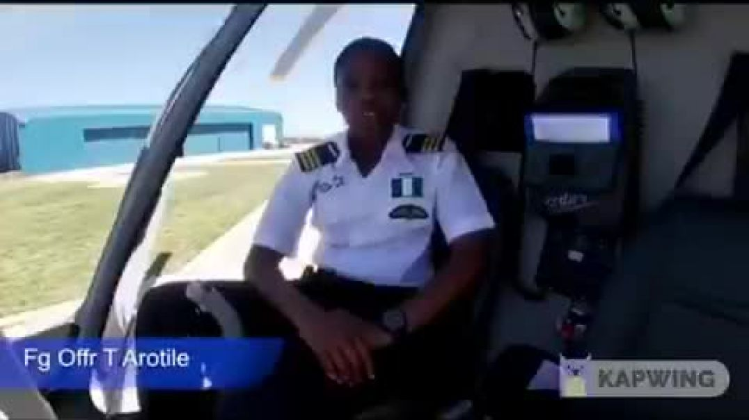 Short But Very Impactful: The Very Remarkable Life of Nigeria's First Female Combat Helicopter