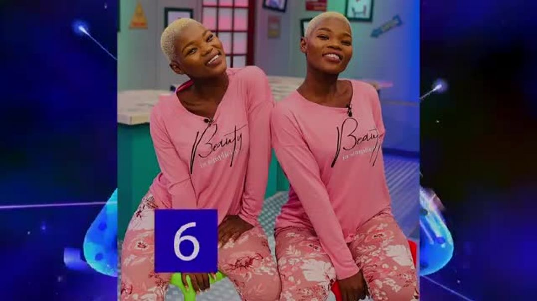 Top 10 Hottest African twins