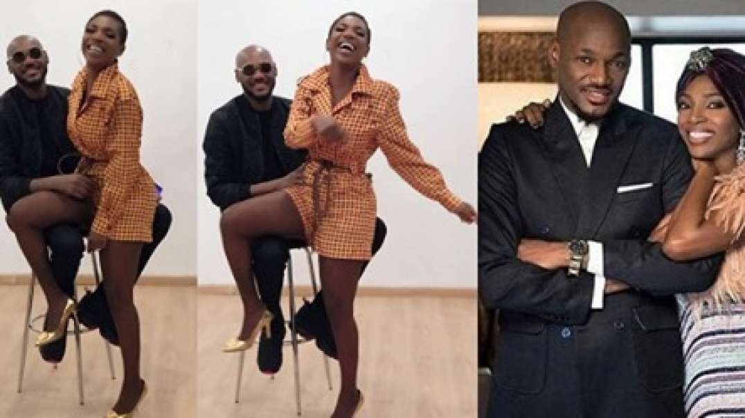 Annie Idibia and 2Baba serve couple goals in lovely new video