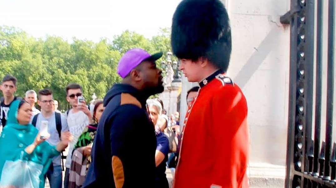 He Tried to Mess with a Royal Guard