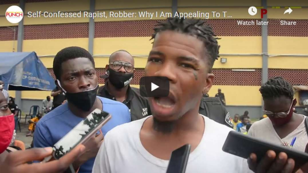 An Armed Robber And A Rapist Begs Police To Kill him [Video]