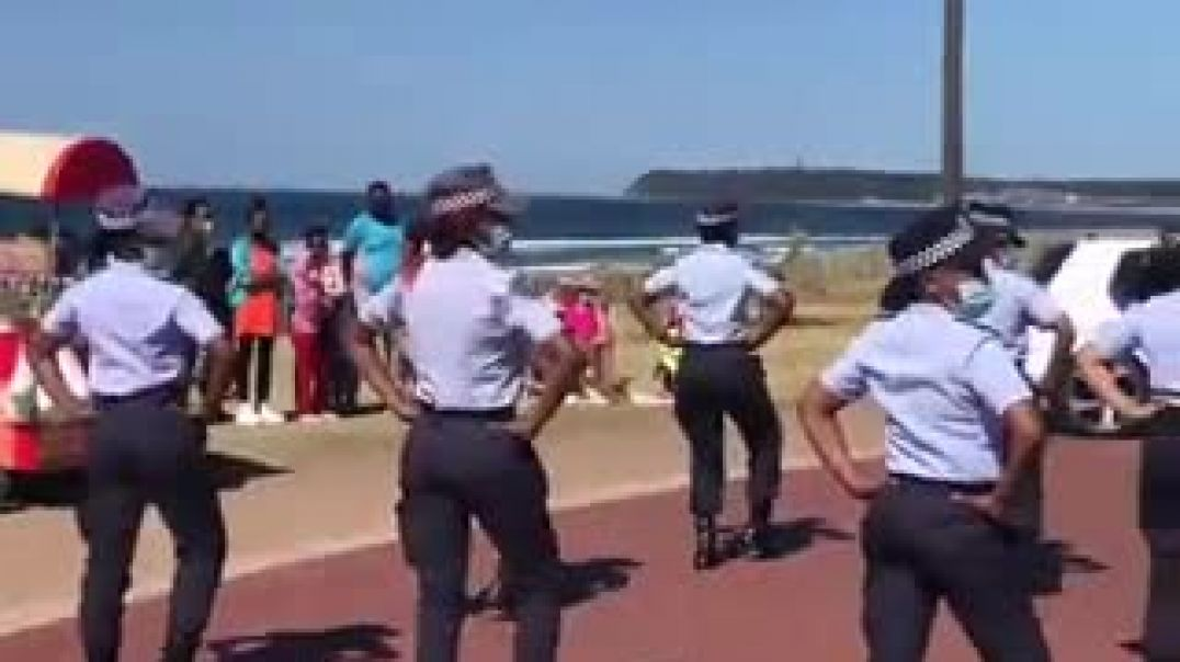 Durban Metro Police Women Celebrate Women's Day with Jerusalem Dance